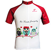 JESOCYCLING Women's New Design Full Length Front Zipper Breathable Short Sleeve Cycling Jersey