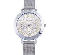 Women's Fashion Stainless Steel Band Quartz Analog Bracelet Watch(Assorted Colors) Cool Watches Unique Watches