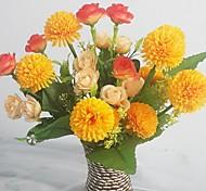 Шелк / Пластик Розы / Сирень Искусственные Цветы