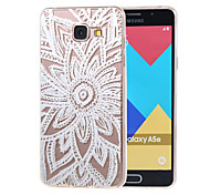 Hollow Flower New Soft TPU Back Case Cover For Samsung Galaxy A3 (2016) A310 A310F/A5(2016) A510 A510F-15