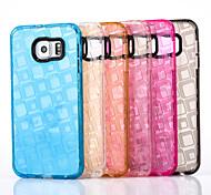 Four Squares Design TPU Soft Back Case For Samsung Galaxy J1/J2/J3/J5/J7/J1 ACE(Assorted Colors)