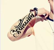 водонепроницаемый временный татуировки большие руки наклейки поддельные передачи татуировки сексуальный спрей