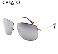 Sunglasses Men / Women / Unisex's Fashion Oval Silver / Gold / Gray Sunglasses / Driving Full-Rim