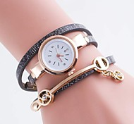 Ladies' Watch Table PU Rhinestone Bracelet Watch Small Angel Round Watch Cool Watches Unique Watches