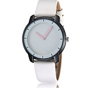 Stylish simplicity casual quartz watch dial friction