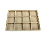 Jewelry Display Storage Box Case Bracelet Tray Holder 35x24x3cm