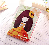 Little Girl Series Four PU Leather Full Body Case With Stand for iPad Mini 3/2/1