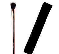 Lashining High Quality Professional Eyeshadow Brush Gift One Black Flannelette Like metallic handle