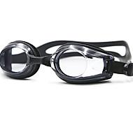 плавательные очки Противо-туманное покрытие Водонепроницаемость Силикагель Поликарбонат черный синий белый черный синий красный