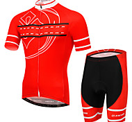 XINTOWN Ultraviolet Resistant Breathable Quick Dry Bike Cycling Clothing Suit Sport Bicycle Short Jersey Shorts Set