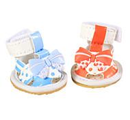 Hunde Socken & Schuhe / Kleidung / Kleidung Blau / Purpur / Orange Sommer Modisch