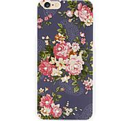 rosas padrão de volta para o iPhone 6 / 6s