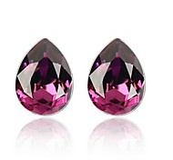 Full Crystal Zircon Earrings Stud Earrings for Women Waterdrop Earrings Fashion Jewelry Accessories