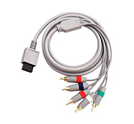 Component Cable Cord AV Cable HDTV/EDTV High Definition 480p for Nintendo Wii