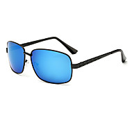 Sunglasses Men's Sports / Modern / Fashion / Polarized Square Multi-Color Sunglasses / Sports / Driving Full-Rim