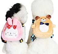 Dog Harnesses Adjustable/Retractable Red / Green / Blue / Pink Sponge