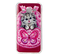 Cat Pattern TPU Soft Case for Galaxy Grand Neo/Galaxy Grand Prime/Galaxy J1/Galaxy J5