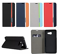 Retro Fashion Deluxe Leather flip Wallet Stand Case For Galaxy A7/A5/A3/A3(2016)/A5(2016)/A7(2016)