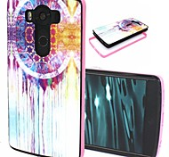 2-in-1 Dream Catcher Pattern TPU Back Cover with PC Bumper Shockproof Soft Case for LG V10/G4 Pro