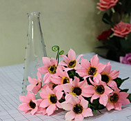 High Quality  Dew Chrysanthemum Flower Silk Flower Artificial Flowers for home Decoration Flower Kit