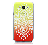 Gradient Chinese Knot Pattern TPU Material Phone Case for Samsung Galaxy E5/E7