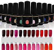 Newest Popular Top Fashion  Soak-off UV & LED Gel Polish (15ml,1-24 Colors)
