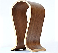 Hot Sale Fashionable Wooden Omega U-Shaped Headphone Display Stand Headphones Holder