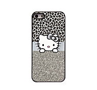 Cute cat Design Aluminum Hard Case for iPhone 5/5S