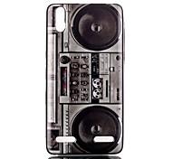 Speaker Pattern TPU Phone Case for Lenovo A6000