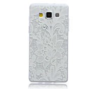 Lace Rose Pattern TPU Material Phone Case for Samsung Galaxy A3/A5