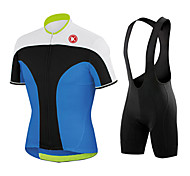 KEIYUEM Bike/Cycling Tights / Clothing Sets/Suits Men's / Unisex Short SleeveWaterproof / Dust Proof / Windproof / Low-friction /