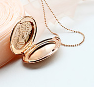 Fashion Watch Box Explosion Double Peach Wheat Circular Necklace