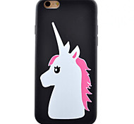 Pony Pattern TPU Material Phone Case for iPhone 5/5S/iPhone SE