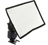 Sidande 20x30cm/7.9*11.8in Portable Photography Mini Flash Diffuser Softbox Kit Canon Nikon Samsung DSLR Speedlite Flash