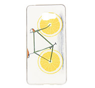 Orange Bike Pattern TPU Soft Case Phone Case for Samsung Galaxy A3/A5/A7/A3 10/A510/A710