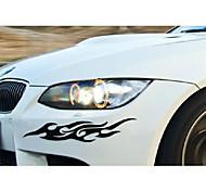 pared de la ventana de coche divertida extravagancia etiqueta engomada del coche estilo del coche calcomanía (2pcs)