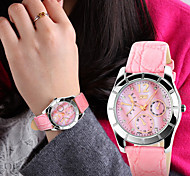 SKMEI® Lady's Leather Band Japanese Quartz 30M Water Resistant Fashion Fashion Watch Cool Watches Unique Watches