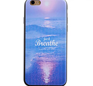 Sea Pattern TPU Material Phone Case for iPhone 5/5S/iPhone SE