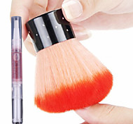 Nail soft brush cleaning brush+1Cuticle Revitalizer Oil