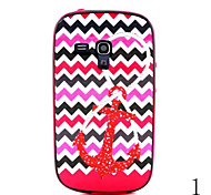 Multi-Pattern Design Back Cover+Bumper Cover Case for Samsung Galaxy Trend Duos S7562(Assorted Color)