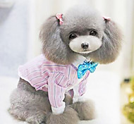 Dog Coat / Shirt Blue / Pink Summer Fashion