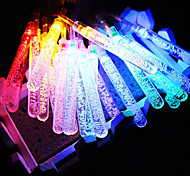 King Ro 50LED Xmas Battery Operated Water Bubble Stick LED Christmas String Lights (KL0063-RGB,White,Warm White)