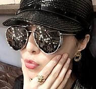 Sunglasses Men / Women / Unisex's Sports / Modern / Fashion / Aviator / Polarized Oversized Multi-Color Sunglasses Full-Rim
