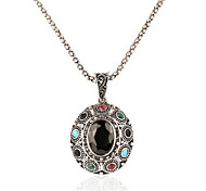 Crystal / Alloy / Resin Necklace Pendant Necklaces Daily / Casual 1pc