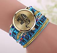 Xu™ Women's The Elephant Diamonds Quartz Watch
