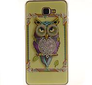 Cartoon owls Pattern TPU+IMD Soft Case for Samsung Galaxy A9/A9000