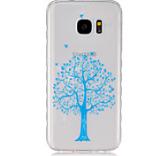 For Samsung Galaxy Case Transparent Case Back Cover Case Tree TPU SamsungS7 / S6 edge / S6 / S5 Mini / S5 / S4 Mini / S4 / S3 Mini / S3 /
