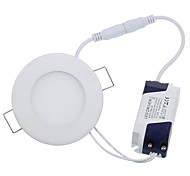Luci a pannello 15 LED ad alta intesità HRY 3W Decorativo 270-300 LM Bianco caldo / Luce fredda 1 pezzo AC 85-265 V