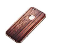 bois foncé cadre modèle / métal / pc 3d cas de téléphone mobile pour iPhone6 / 6s