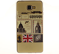 The envelope design of London TPU+IMD Soft Case for Samsung Galaxy A9/A9000